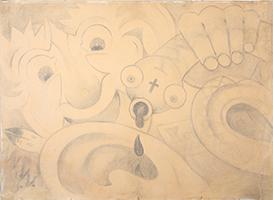 William Wauer: Komposition