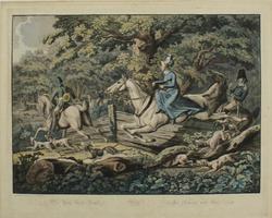 Johann Lorenz Rugendas: Die Pax Force Jagd