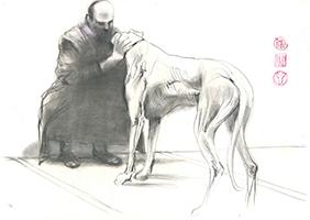Per Gernhardt: Herr und Hund