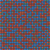 Francois Morellet: Geometrische Komposition