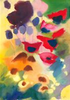 Willi Ulfig: Mit fünf roten Blüten