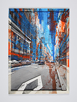 Gottfried Salzmann: Lane in New York