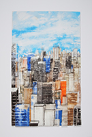 Gottfried Salzmann: Skyscrapers in New York