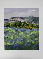 Zarou (eig. Gerard CARDELLA): Lavendelfeld vor alter Festung
