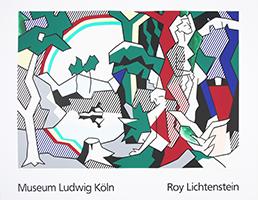 Roy Lichtenstein: Landscape with Figures and Rainbow - GROSS