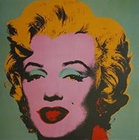 Andy Warhol: Marilyn - green - GROSS