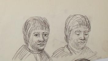 A.R. Penck: Zwei Gesichter
