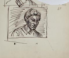 A.R. Penck: Kopf