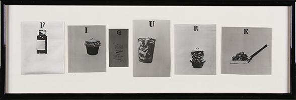 Marcel Broodthaers: Figure, 1968/74