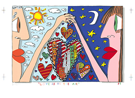 James Rizzi: Love Is In The Air