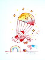 Wilhelm Schlote: Merry Christmas - Fallschirmsprung