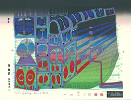 Friedensreich Hundertwasser: Nachtzug