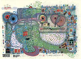 Friedensreich Hundertwasser: Regentropfenzähler