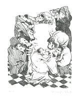 Johannes Grützke: Die Bewirtung der kleinen Leute