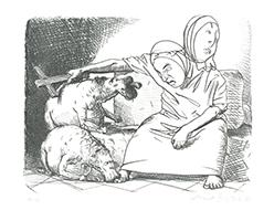 Johannes Grützke: Von unten erscheinen kleine Leute