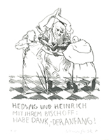 Johannes Grützke: Fleischliche Trennung durch Bischof