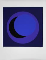 Geneviève Claisse: Cercle bleu foncé