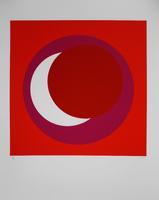 Geneviève Claisse: Cercle rouge/rose vif