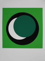 Geneviève Claisse: Cercle vert foncé