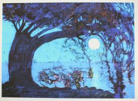 Ernst Fuchs: Starnberger See II