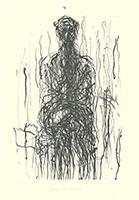 Max Uhlig: Sitzende Frau