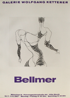 Hans Bellmer: Liegende in Strümpfen