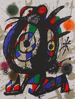 Joan Miró: Litografia original I
