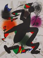 Joan Miró: Litografia original IV
