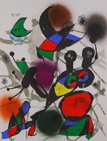 Joan Miró: Litografia original II
