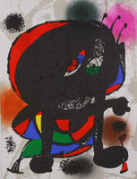 Joan Miró: Litografia original III