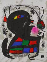 Joan Miró: Litografia original V