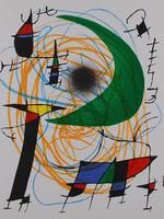 Joan Miró: La Lune verte