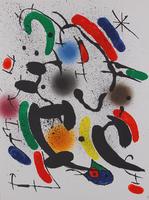 Joan Miró: Litografia Original VI