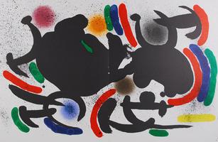 Joan Miró: Litografia Original VII