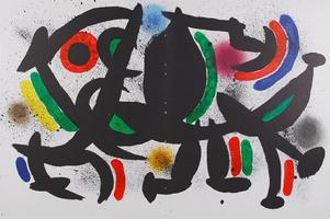 Joan Miró: Litografia Original VIII