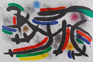 Joan Miró: Litografia Original IX