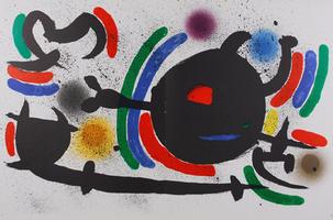 Joan Miró: Litografia Original X