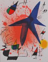 Joan Miró: L`Astre bleu