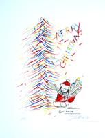 Wilhelm Schlote: Merry Christmas - Tannenbaum