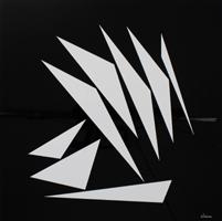 Geneviève Claisse: Komposition géometrique