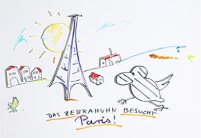 Helge Schneider: Das Zebrahuhn besucht Paris