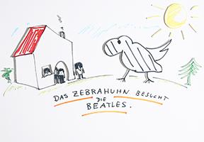 Helge Schneider: Das Zebrahuhn besucht die Beatles