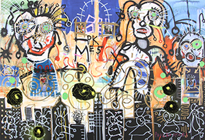 Paul Kostabi: The Twilight Turns