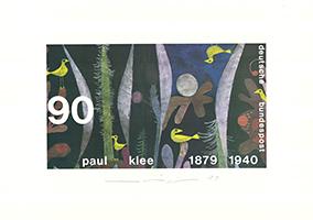 Almir Mavignier: Landschaft mit gelben Vögeln