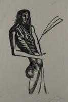 Ernst Fuchs: Johannes der Täufer - Aus: Kataklysmen