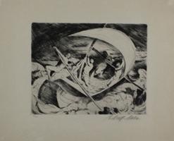 Ernst Wolff-Malm: Stürmisch See