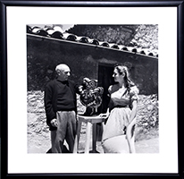 Willy Maywald: Pablo Picasso und Francoise Gilot?