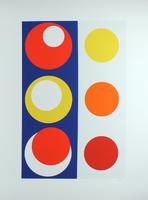 Geneviève Claisse: Composition géométrique - Cercles