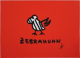 Helge Schneider: Zebrahuhn - Rot