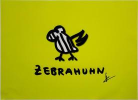 Helge Schneider: Zebrahuhn - Gelb